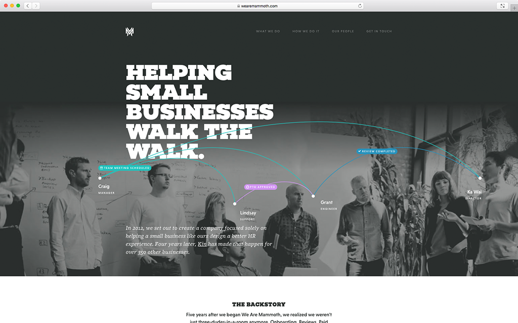We Are Mammoth: Case Study